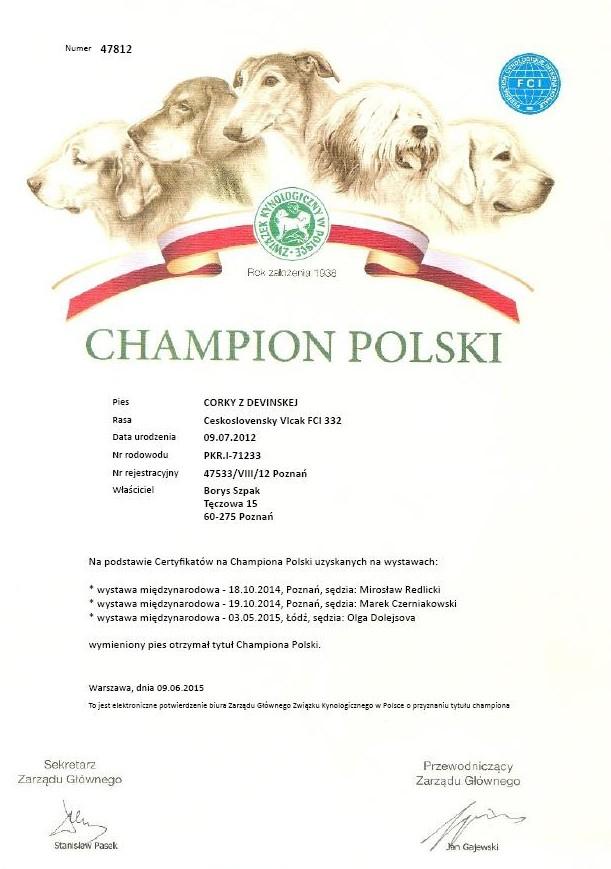 corky šampion